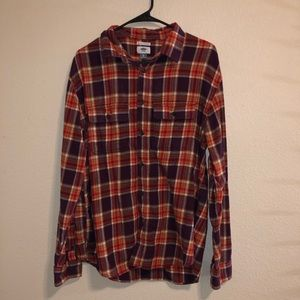 Old Navy Maroon Flannel!